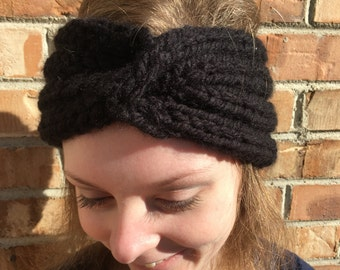 Twisted Cabled Headband, Color Options