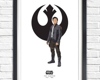Star Wars - Solo Series - Poe Dameron - 19x13 Poster