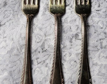Reed & Barton Old London Silver-plated Forks