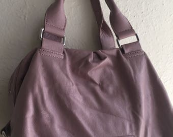 Pastel Purple Handle Bag