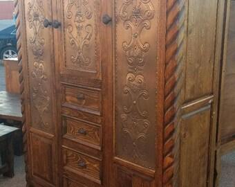 Rustic Beautiful Armoire