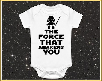 Star wars baby etsy the force that awakens you baby onesie cute funny star wars baby clothes for baby girl negle Choice Image