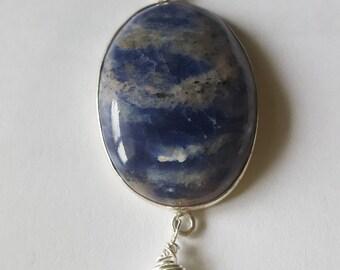 Sodalite and opalite quartz