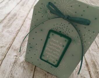 "Gift packaging ""Sparkling Christmas"""