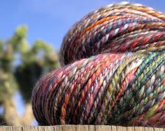 Hand Spun Yarn - Baby Alpacal - Delirious