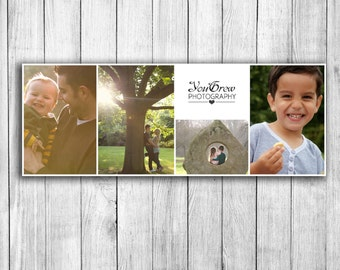Facebook cover template, photoshop templates, marketing board for photographers, digital download, social media template