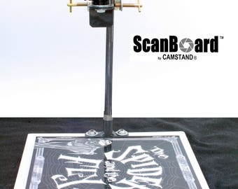 CamStand  ScanBoard II - Desktop Copyboard for iPhones, Android Cell Phones and Sports Cameras