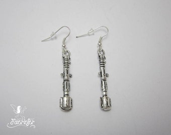 Sonic Screwdriver earrings - science fiction - time traveller gift