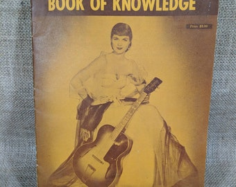 Vintage booklet Guitarists' book of Knowledge