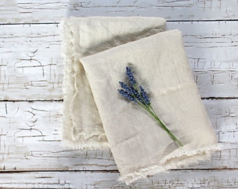 Linen Hand Towels, Farmhouse Bathroom Towel Rustic Hand Towel, Washed Linen  Hand Towel, Natural Hand Towels, Farmhouse Hand Towel, Set Of 2