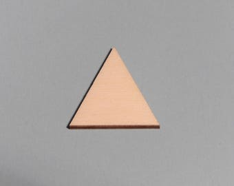 TRIANGLE, blank craft shapes, various sizes, hobby