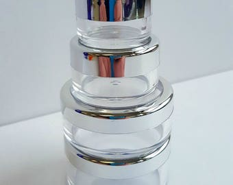 Makeup Jars Empty for your DIY projects