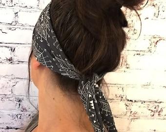 Wandering Gypsy - Black - Eco Friendly Yoga Headband