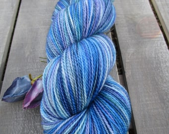 Ewetopia Fingering 3.2 oz, Hand dyed yarn, Superwash Merino Wool, 448yds/100g: Stained Glass.