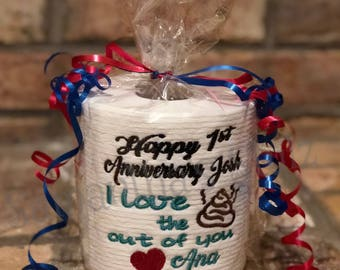 wedding anniversary gag gifts
