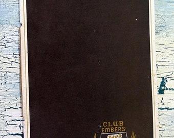 BTS The Club Embers of Memphis Menus