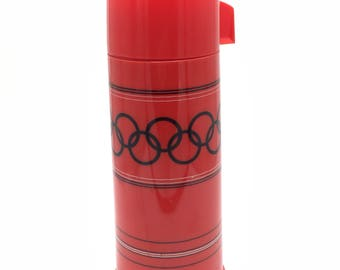 gamble skogmo Olympic Rings thermos