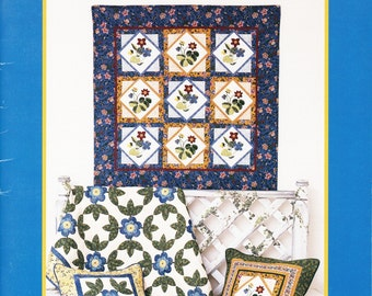 Weekend in Provence Quilt Book by Brandywine Design