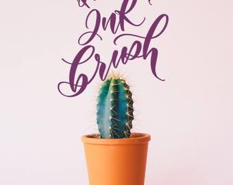 PROCREATE BRUSH - Ink brush