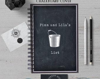 Bucket List Journal, Custom Notebook, Personalized Journal, Personalized Gift, Custom Journal, Personalized Notebook, Bullet Journal