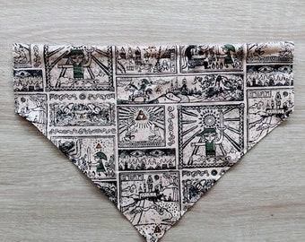 Legend of Dog Collar Handkerchief