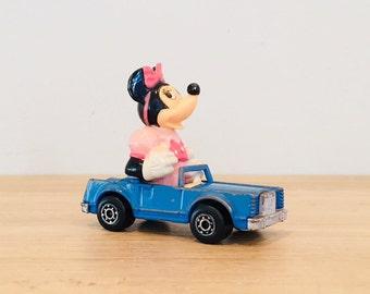 Vintage 1979 Lesney Matchbox Disney Series No. 4 Lincoln Convertible Minnie Mouse