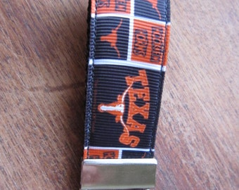 Texas Longhorns Keychain Fob