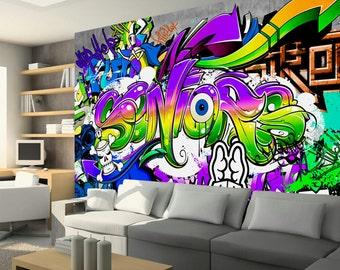 Graffiti Slaapkamer Muur : Graffiti op je slaapkamer beste inspiratie voor huis ontwerp