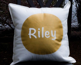 Throw Pillow - Personalize Name