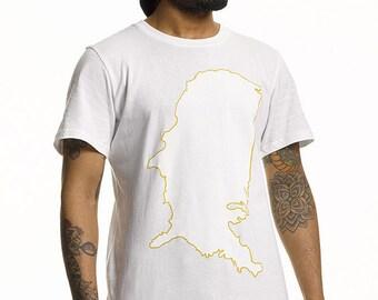 PKUS Parkour Longline T Shirt in White
