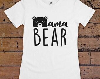 Mama Bear T-Shirt For Women
