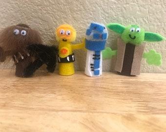 Star Wars Finger Puppet Set #1