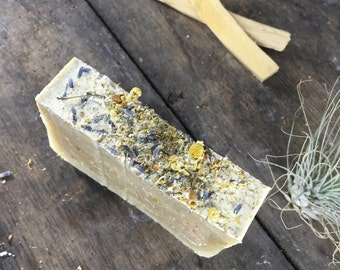 Calming Lavender and Chamomile Vegan Soap