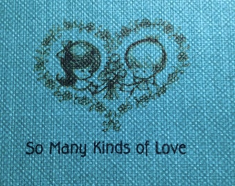 1968 So Many Kinds of Love Book by Hallmark