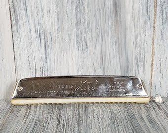 Hero harmonica - Old Chinese musical Instrument - Vintage harmonica - Old musical instrument