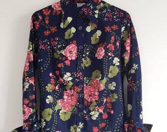 Floral Retro Shirt