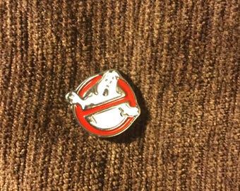 Ghostbusters logo hat pin