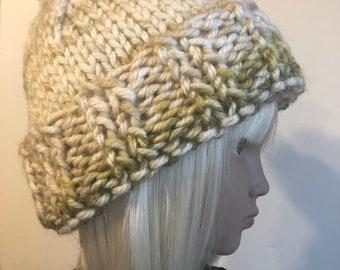 Handknit Wool Hat