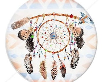 resin cabochon is 25 mm dreamcatcher dream catcher Indian ethnic arrows 1 stick