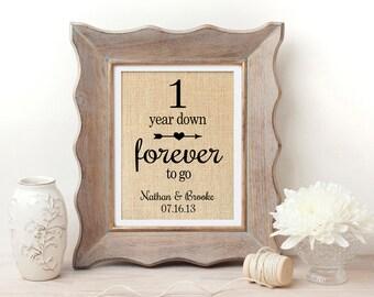 One Year Anniversary | 1st Anniversary Gift | 1st Anniversary Gift for Husband | 1st Anniversary | 1st Anniversary Gift for Couple | 1 Year