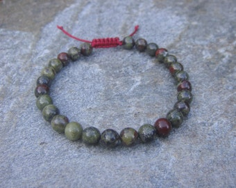 dragons blood bead bracelet 6mm