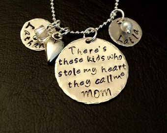 There's these kids who stole my heart they call me mom. ~Customizable~