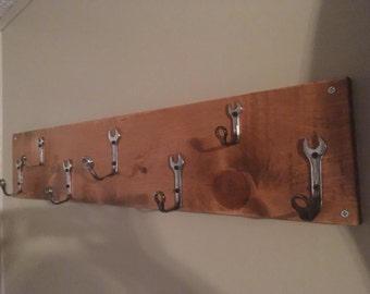 Wrench Coat Rack