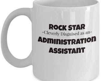 Admin Assistant Coffee Tea Mug | Gift for Administration Worker