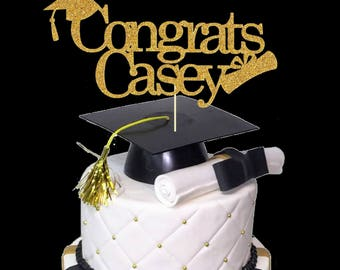 congrats cake topper,Graduation Cake Topper,CLASS OF 2018 Cake Topper,congratulations cake topper, 2018 Graduation Banner,Class of 2017 Sign