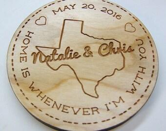 Wood Coaster Set - Custom Coasters