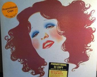 Bette Midler The Divine Miss M Vinyl Pop Record Album