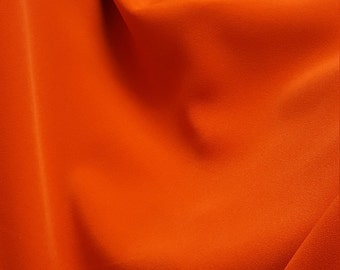 Crep Titanic none stretch /orange