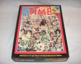 TIME The Game by John N Hansen Co 1983
