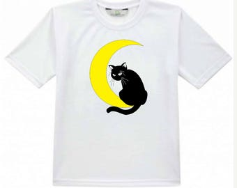 Tshirt - Cat on Moon